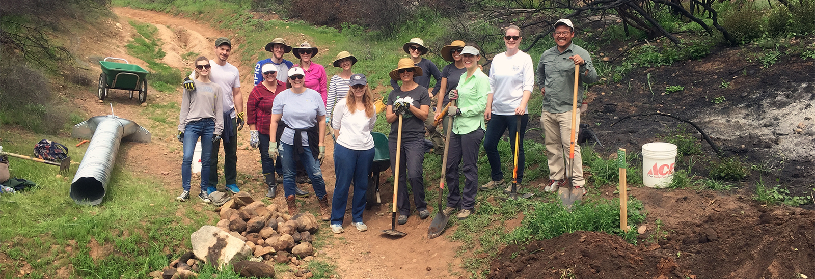 GPA Consulting Staff Repairs Trail